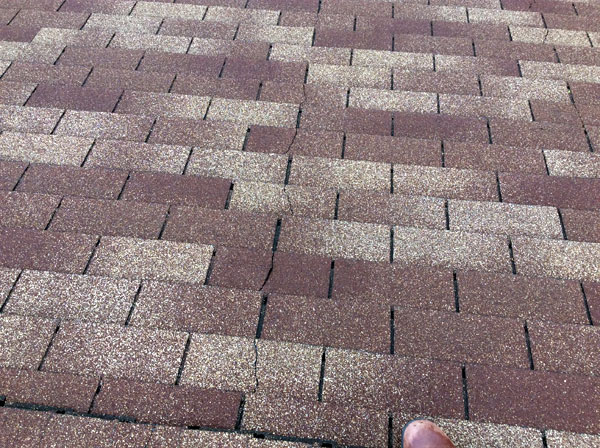 Disturbing Instances Of Cracked Roofing Shingles George