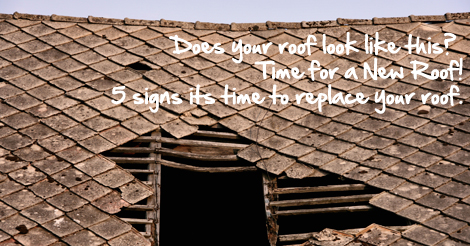 Five Signs It S Time To Replace Your Roof George J