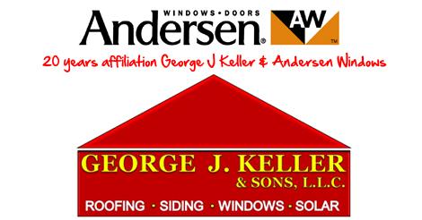 20 year affiliation Andersen Windows and George J Keller