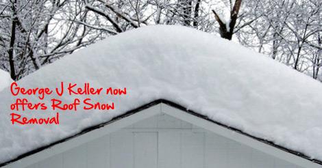 George Keller roof snow removal