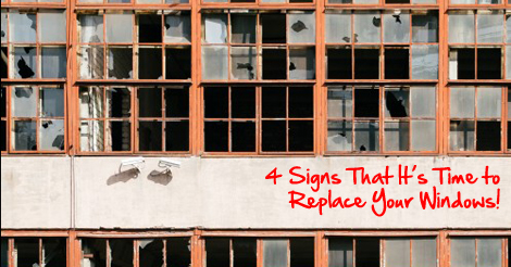 4 signs its time to replace your windows