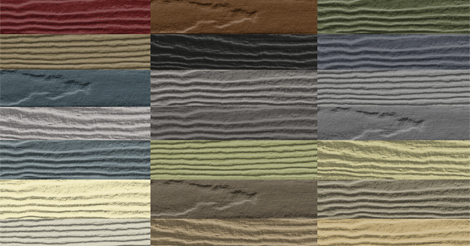 Siding color choices