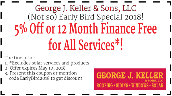 Early Bird Special 2018