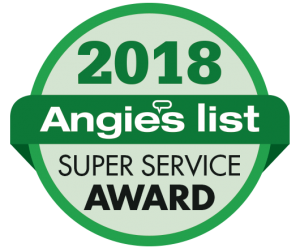 George J Keller & Sons Earns 2018 Angie's List Super Service Award