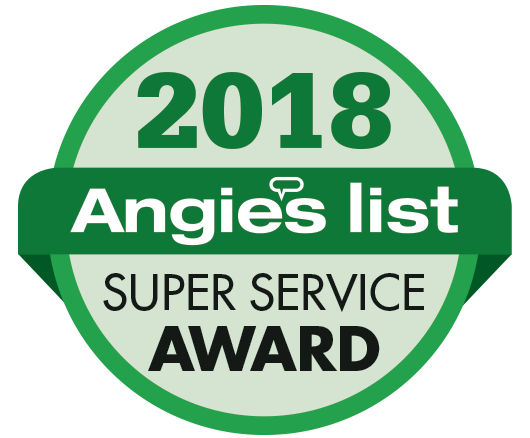 George J Keller & Sons Earns 2018 Angie's List Super Service Award