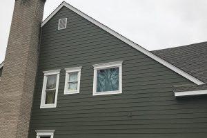 New siding transforms house – Bernardsville, NJ 07924