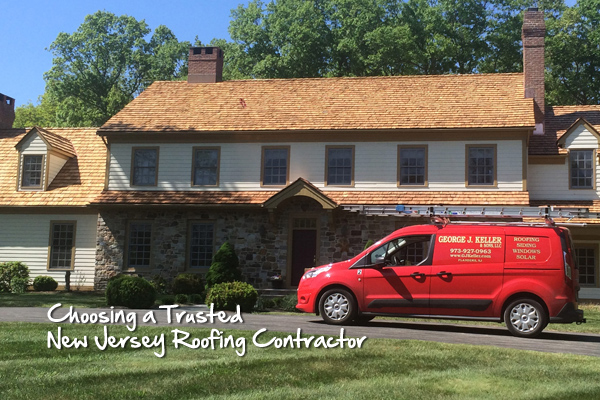 Choosing a Trusted New Jersey Roofing Contractor