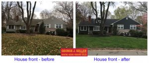 New roof and siding transforms house – Morristown, NJ 07960