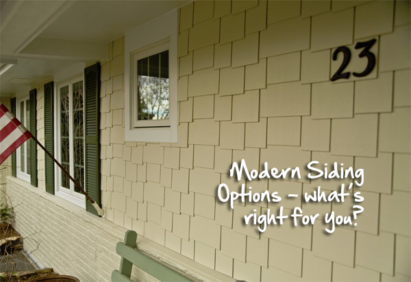 Modern Siding Options