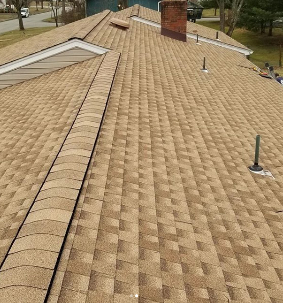 New roof project for Parsippany, NJ homeowner