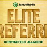 George J Keller & Sons LLC is now a James Hardie Elite Preferred Contractor