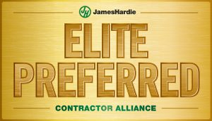 Read more about the article George J Keller & Sons LLC is now a James Hardie Elite Preferred Contractor