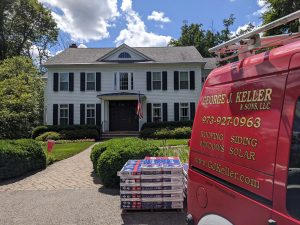 New roof installation, Morristown, NJ